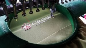 One important note about custom embroidery